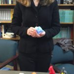 One of the perks of being Chairperson is getting to assign a topic for one of the Level III speeches. Today's choice - the Mold-A-Rama Machine! Madison won Best Speaker, while mentioning that her topic threw her parents into a tailspin of nostalgia. They even mail-ordered some samples to show us. My work here is done.