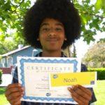 Noah achieves Level II